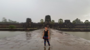 Rain or shine, Angkor Wat is beautiful and awe-inspiring.