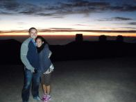 It was very cold and my jacket wasn't enough, but the sunset from atop Mauna Kea is hard to beat.