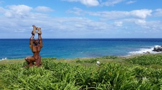 Punta Sur sculpture park
