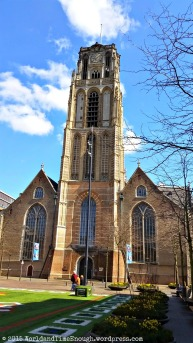 The oldest all-stone building in Rotterdam, the St. Lawrence Church was built in the late 15th century.