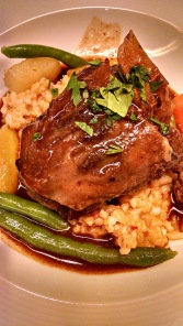 Delicious veal and couscous